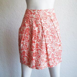 ODILLE Floral & Butterfly Print Pleated Skirt 2